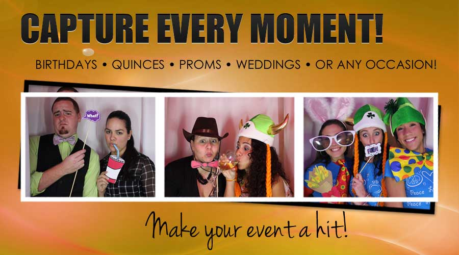 Photo Booth Fun For Everyone!