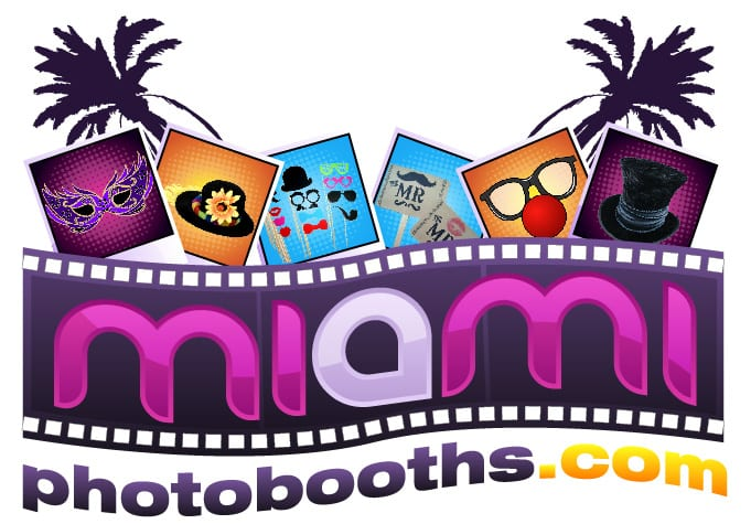Logo Miami photo booths nuevos 4